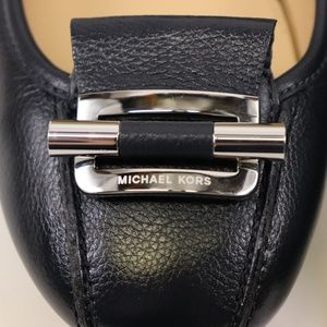 NEW MICHAEL KORS Admiral Leather GLORIA MOC Loafer